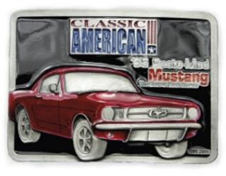 Gürtelschnalle Ford Mustang