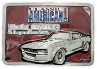 Gürtelschnalle Shelby Mustang