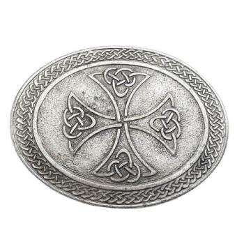 Gürtelschnalle Keltisches Kreuz