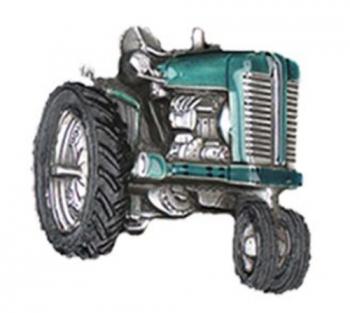 Gürtelschnalle Traktor - Oldtimer