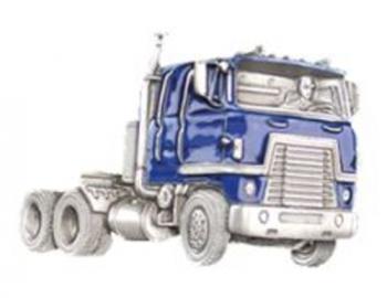 Gürtelschnalle Truck