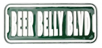 Gürtelschnalle Beer Belly Blvd.