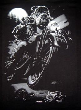 T-Shirt Cat Sucks Biker