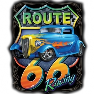 T-Shirt Route 66 Solartrans