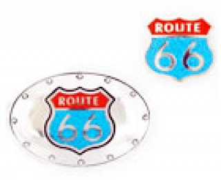 Set Buckle & Bolotie Route 66