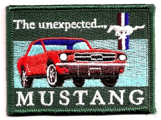 Aufnäher (Patch) Ford Mustang