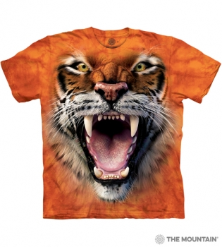 T-Shirt Tigergesicht