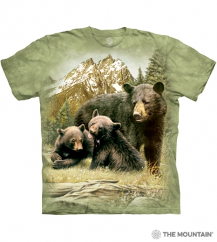 T-Shirt Bärenfamilie von The Mountain (TM)