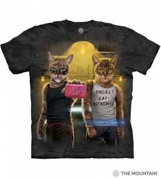 T-Shirt Catfight von The Mountain (TM)