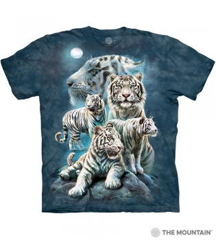 T-Shirt Weisse Tiger von The Mountain (TM)