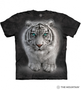 T-Shirt Weisser Tiger von The Mountain (TM)