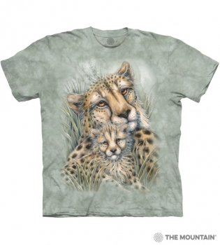 T-Shirt Leopard mit Kind von The Mountain (TM)