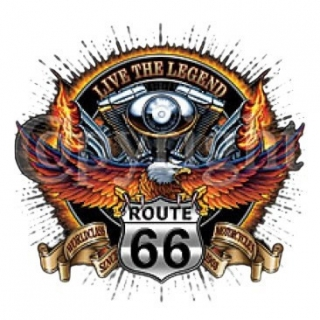 T-Shirt Route 66 Live the Legend