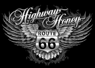 T-Shirt Route 66 Highway Honey